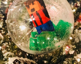 Minecraft Inspired Ornament