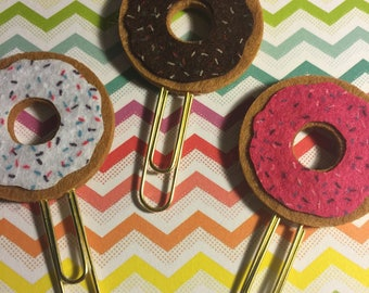 Donut Paper Clips