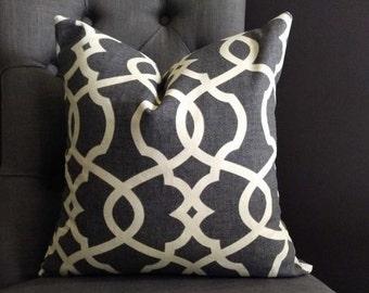 Pillow Cover, Gray Pillow Cover, HEIDI