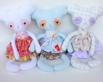 SALE Pearl PDF Doll Pattern
