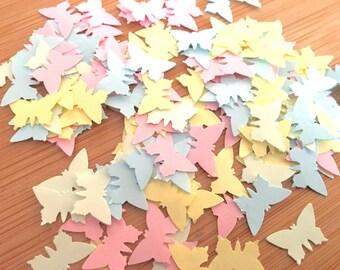1000 x Pastel Butterfly Shaped Confetti