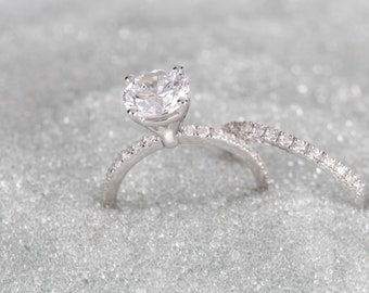 Big engagement ring Etsy
