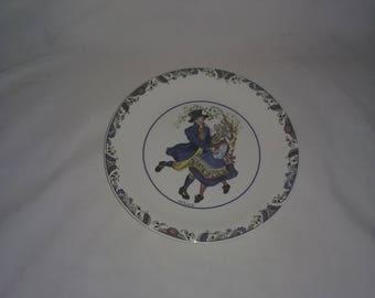 Swedish National Costumes  plate 1081,Svenska Landskapsdrakter Sweden Collector Plate,Smaland