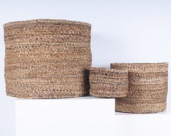 MATUNDA: Banana Fibre Woven Basket