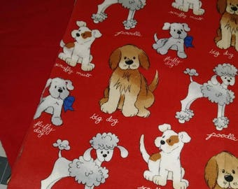 Puppies Large Receiving Blanket set - READY TO SHIP