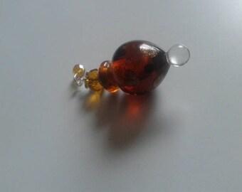 Murano collection miniature perfume bottle