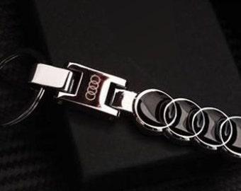 Audi Key Chain,Key ring,Car Key chains,gift for him,Gift for Boyfriend,Husband,Father,Dad,Anniversary,Birthday,Christmas, Bitcoin