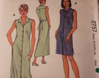Kwik Sew 2757, Women's Dress Pattern