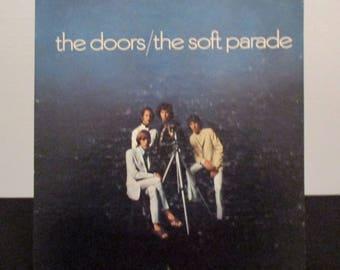 Recycled vinyl album cover notebook - The Doors!