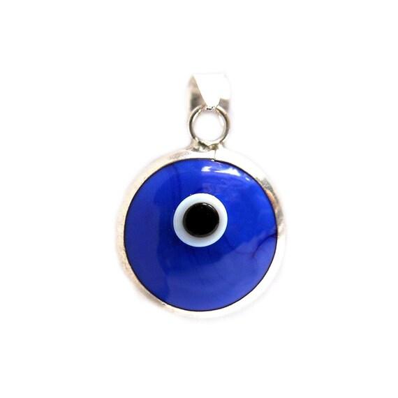 925k sterling silver blue evil eye pendant evil eye jewelry evil 925k sterling silver blue evil eye pendant evil eye jewelry evil eye charm silver evil eye turkish evil eye greek evil eye me1000 aloadofball Choice Image