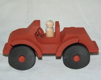 Single Passenger Jeep