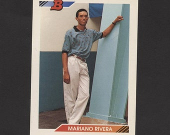 1992 Bowman Baseball Mariano Rivera RC New York Yankees Future Hall of Famer See Scan