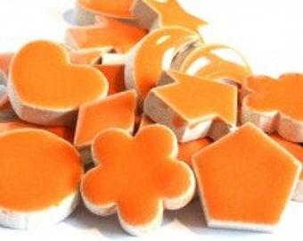 Ceramic Charm - Orange - 50g