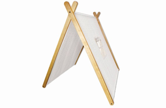 sc 1 st  Etsy & Collapsible A Frame Play Tent made from solid wood and Fabric