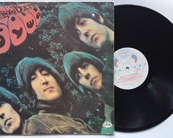 BEATLES. RUBBER Soul. Very Rare Russian Original Pressing  Lp - Record Album. Made in RUssia. Fast Ship from Usa