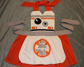 Star Wars Inspired BB-8 Dress Up Apron Costume