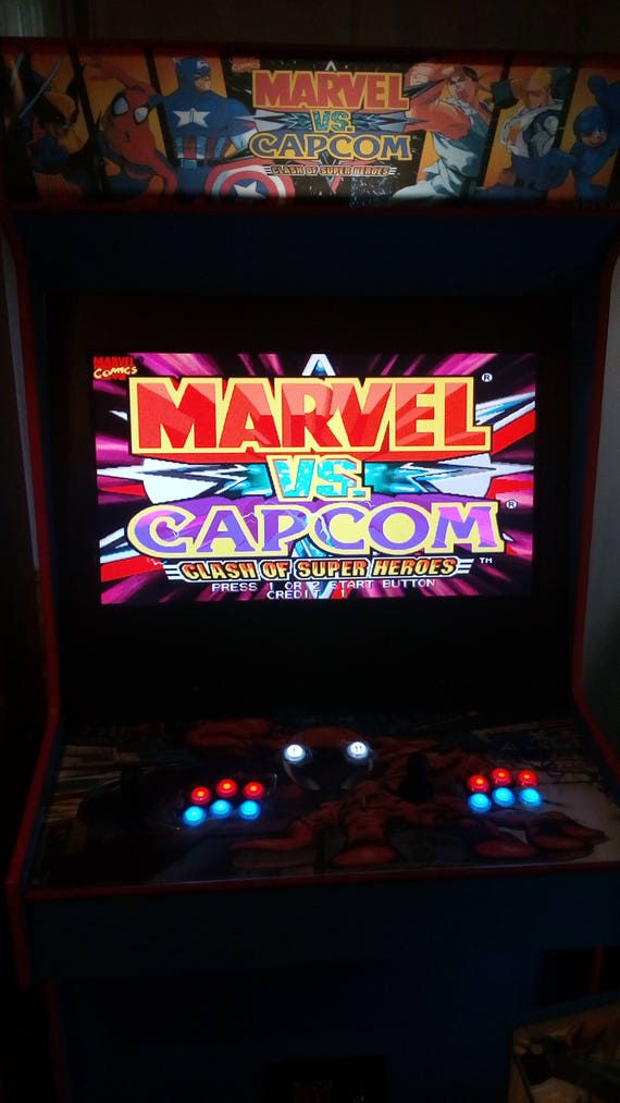Marvel Vs Capcom Arcade Cabinet Upright Machine 999 Games