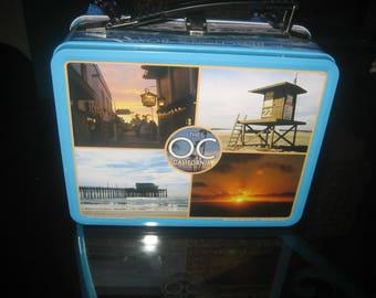 OC California Beach Lunchbox/Lunchpail/Vacation Treasure Metal Box