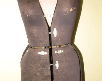 Vintage Dress Form - Distressed - Adjustable