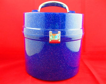 Plastic Hat-box shaped container