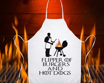 Flipper of Burgers Game Of Thrones Apron