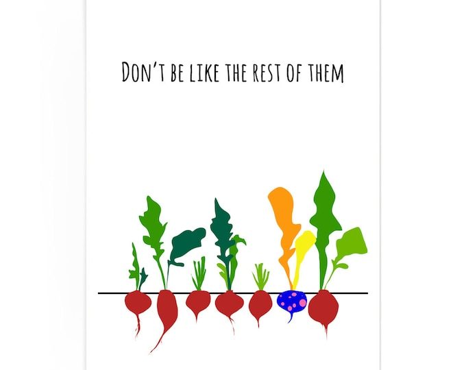 Don't Be Like the Rest of Them Poster