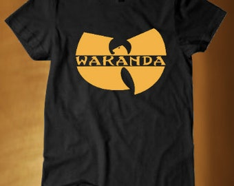 Black Panther Wutang Inspired T-shirt- Marvel Black Panther