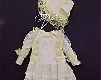 Darling 4 Piece French Style Doll Outfit for Bisque Doll
