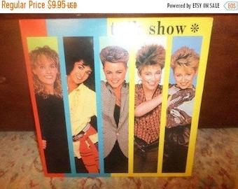 Vintage 1984 Vinyl LP Record Talk Show The Go Go's Excellent Condition 5039