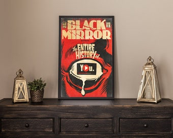 Black Mirror Netflix Comic Artwork YOU
