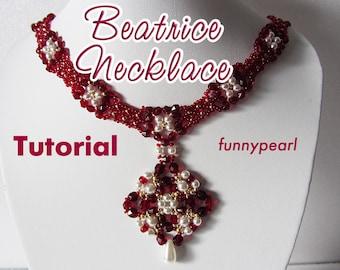 Necklace Beatrice. Tutorial PDF