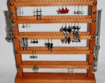 Double-sided stand - up to 240 pairs ... Natural