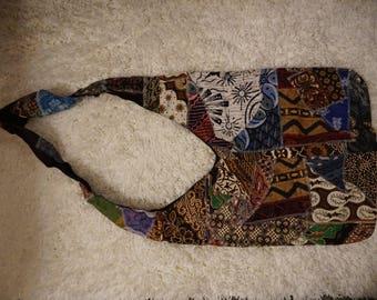 Indonesian Batik Shoulder Bag