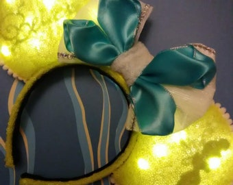 LED Silhouette Tinker Bell inspired Minnie Ears