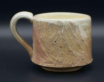 Salt-fired Stoneware Mug