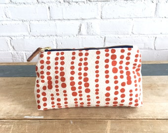 Tomato Hilary Make-up bag, Ready To Ship Now