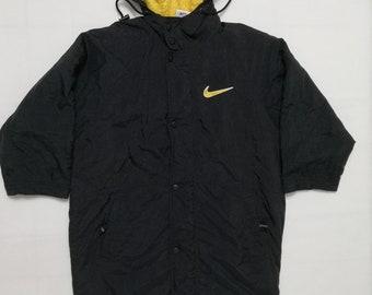 Vintage Nike Big Logo Parka Jacket Coat for Kids
