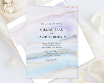 Wedding Invitations - Desert Sands (Style 13728)