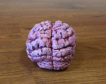 Brain Sculpture Oddity Halloween Decor