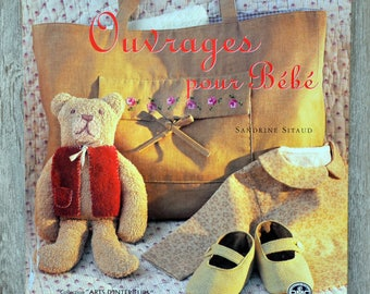 Book books for baby (sewing & embroidery)