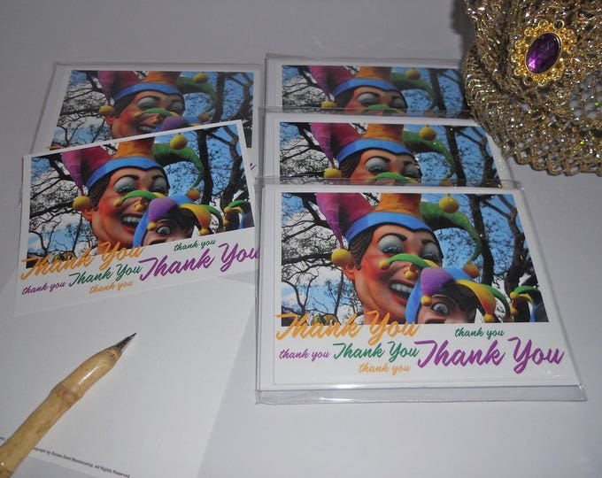 Jester Thank You Notes