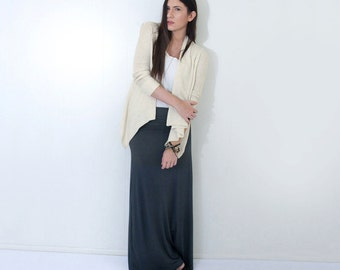 Maxi Skirt • Womens Long Skirt • Bohemian Minimalist • Petite or Tall Length • Ethically made in our loft • L415 & Co Clothing (#415-100)