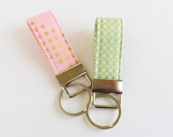 key fob, Key Kandy, short key chain, many colors