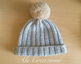 Crochet Baby hat and shoes