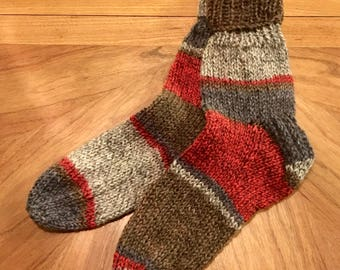 Toddler Knit Socks