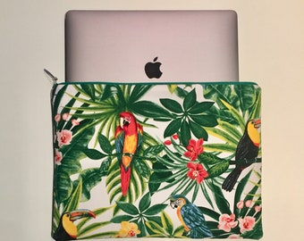 Laptop sleeve / Macbook dimansions 13pouces - model Toka