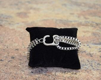Men Venetian Necklace Bracelet Platinum