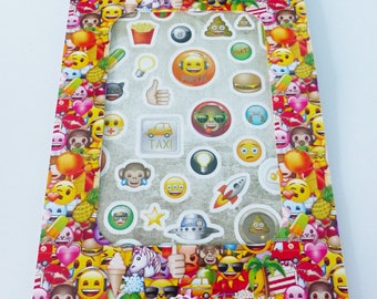 booklet of emoticons emoji stickers more or less 250 stickers in 5 boards