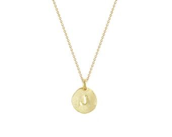 Choose 2 Letters on a 14 karat gold vermeil chain!