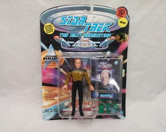 Star Trek Next Generation Lieutenant BARCLAY Action Figure - New in Box - NIB - 1994